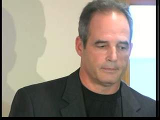 Pinkel meets press after DWI plea