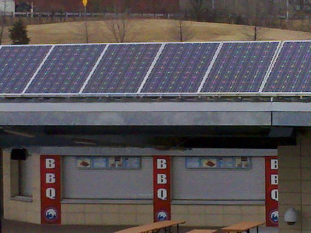 Royals kcp l partner for solar power for Kansas solar installers