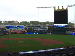 KSHB: GENERAL SHOT OF KAUFFMAN STADIUM 2012