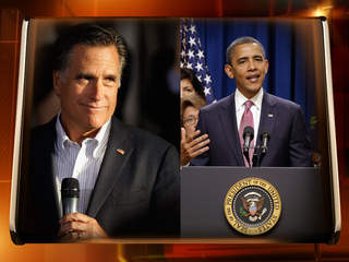 GETTY: MITT ROMNEY & BARACK OBAMA romney obama