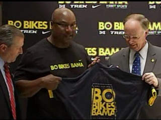 CNN VIDEO: BO BIKES BAMA