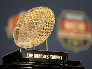 getty: bcs trophy