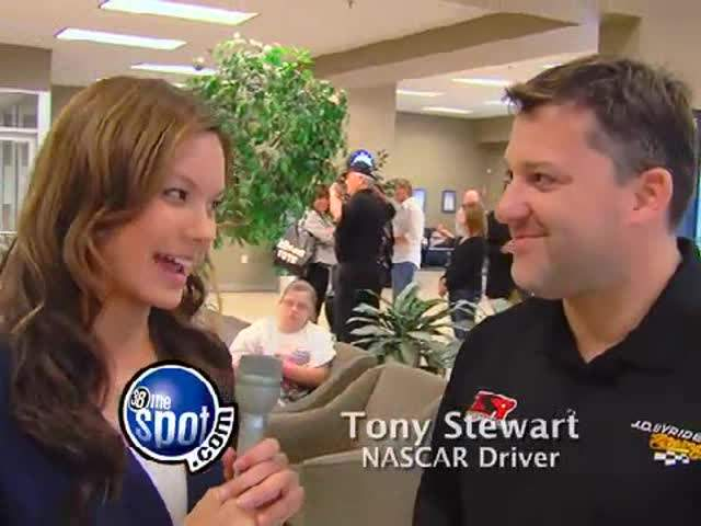 Crystle catches up with Tony Stewart