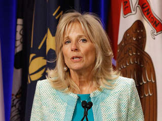getty: jill biden