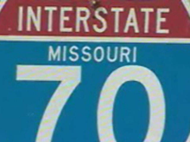 KSHB: INTERSTATE 70 ROAD SIGN