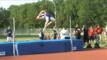 Giess credits Pop-Tart for high jump