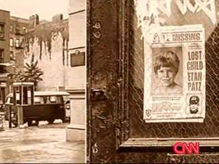 CNN VIDEO: ETAN PATZ MISSING POSTER