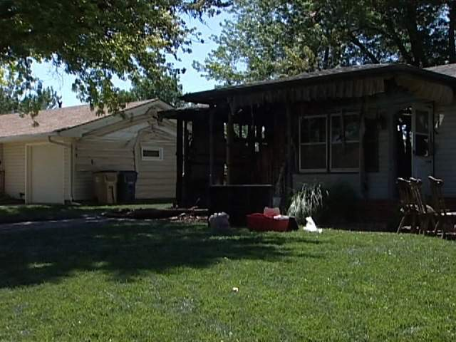 KSHB: Fire at firefighters home 20120623