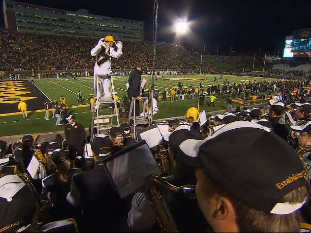 PAUL HEDDINGS (BLIND MIZZOU STUDENT MARCHING BAND)