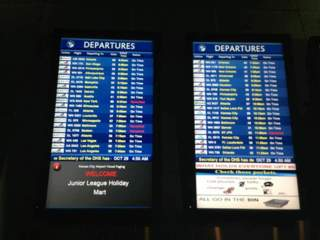 KSHB: KCI FLIGHT BOARD (HURRICANE SANDY) 121029