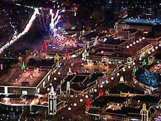 The Now gets a bird's eye view of Plaza lights