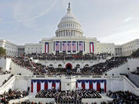 Getty Inaugural Crowd
