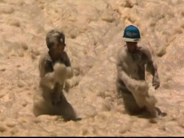 CNN/NETWORK TEN WEB READY AUSTRALIA SEA FOAM