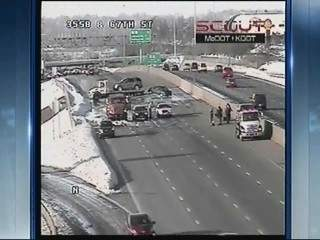 kc scout: crash on i-35 in merriam 130224