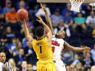 GETTY: Missouri MU Mizzou Ole Miss SEC tournament