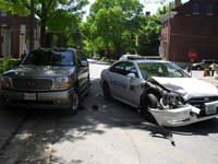 Police Distracted Driving St. Louis crash