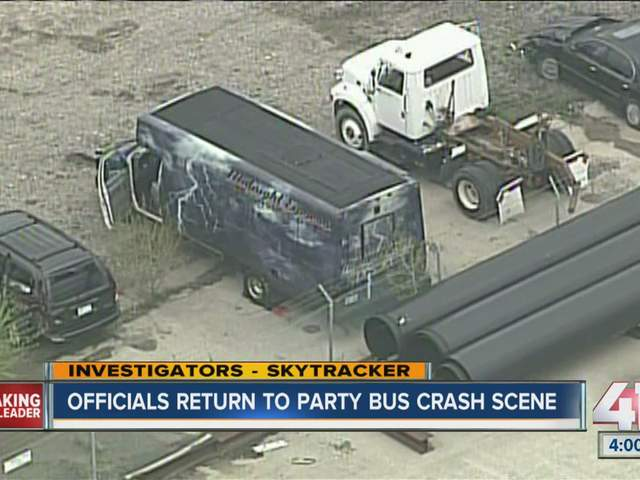 Party bus crash new york
