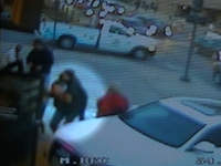 Paul Mongiello rescues Lindsay Simmons JJ's surveillance video