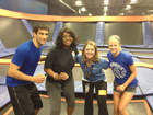 Newsome jumps to fitness at Sky Zone