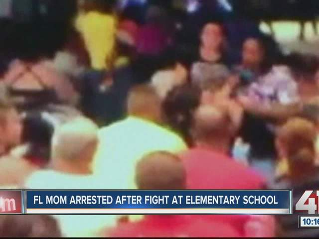 VIDEO: Mom arrested after brawl at elementary school ...
