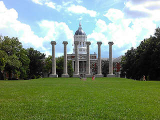 University of Missouri's columns to be repaired