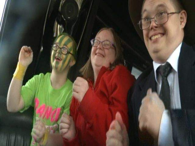 Wedding reception turned into Halloween party for developmentally disabled