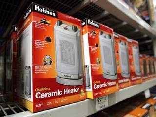 Staying safe while using a space heater