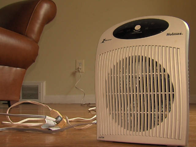 space heater overload how to avoid a fire hazard