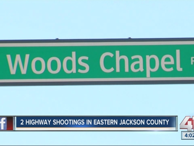 2 highway shootings in eastern Jackson County