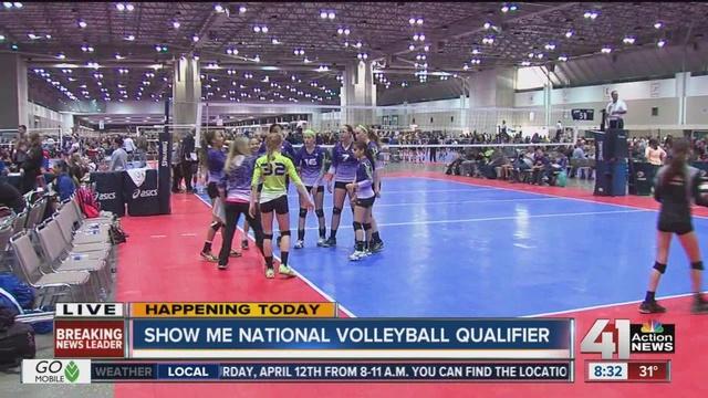 asics volleyball tournament 2014