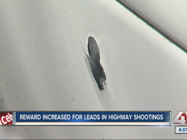 Reward increased for leads in highway shootings investigation