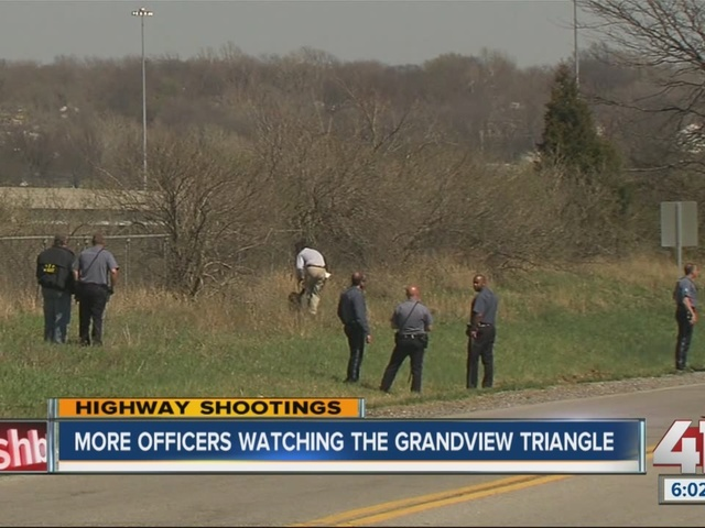 More officers watching Grandview Triangle