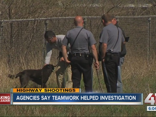 Agencies say teamwork helped in highway shootings investigation