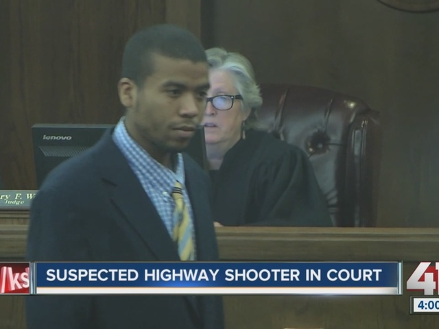 Suspected highway shooter Mohammed Whitaker in court