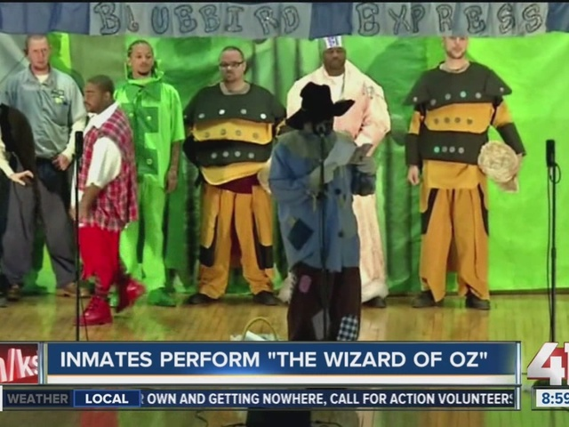 Ohio inmates stage production of 'Wizard of Oz'