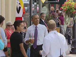 President Obama visits Parkville