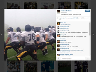 Mizzou football players twerk, jump on it