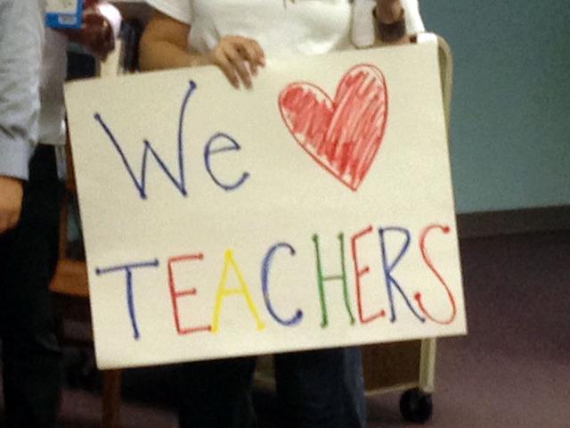 Google donates school supplies to three Garfield Elementary classrooms