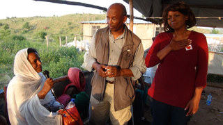 Newsome's breast cancer meetings in Ethiopia