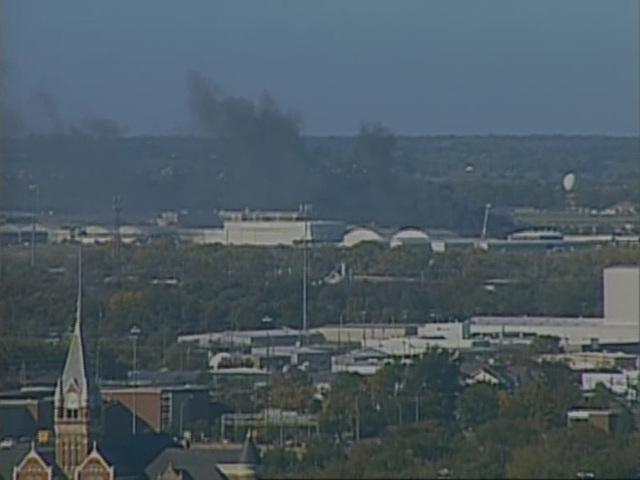 Plane crashes at Wichita airport