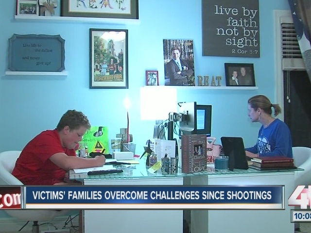 One year later: Woman who lost her son and father in JCC shootings talks…