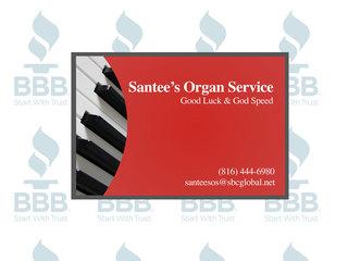 Santee's Organ Service