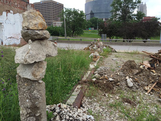 Weird rock formations suddenly show up in KC