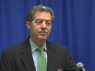 Brownback tight-lipped about his future