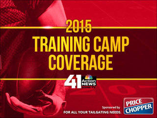 Chiefs Training Camp 2015
