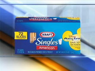 Kraft recalls some 3-lb, 4-lb cheese singles pkg