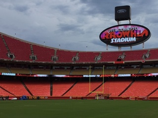Arrowhead one of the top stadiums in the country