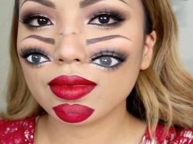 Image Gallery halloween makeup artists