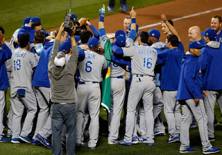 Kansas City Royals are World Series champs!