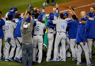 Kansas City Royals are World Series champs!